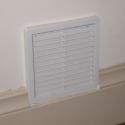 Solar fan for drying room