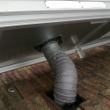 Outer Ducting from Solar Heater to Roof