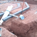 Trenches for large In Ground Cooling System