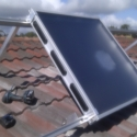 Dehumidify using Solar Ventilation to substitute a conventional Dehumidifier