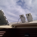 Ventilation fans for SAM systems are powered by solar Panels