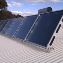 Large scale solar heating and cooling