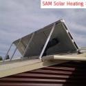 Solar Air Heater for passive solar heating