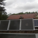 Solar Air Heater for improving air quality