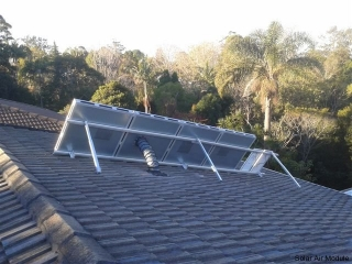 Relieve from asthma and allergies may be obtained by installing a solar dehumidifying ventilation system