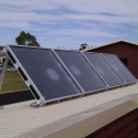 Air Heating system for Solar home heating