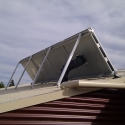Solar home heating is a  great way to control moisture and reduce mustiness.