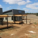 Solar Heating on new House In Port Arlington 2008