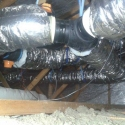 Ducting in roof space Aitken