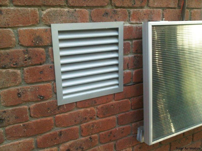 Sub Floor Ventilation Solar Heating