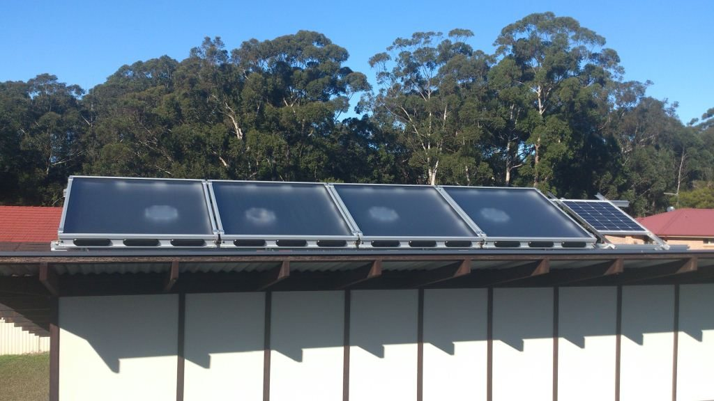 Solar Air Module Installed