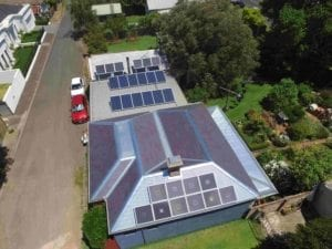 SAM 160 - Solar Air Module - Aerial shot