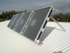 solar air module solar heating